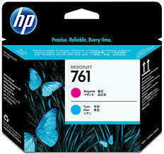HP 761 Magenta & Cyan Printhead, CH646A