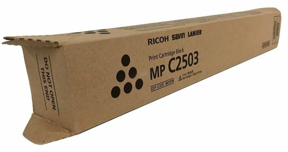 Ricoh MPC2003 / 2503 Toner Cartridge, Black