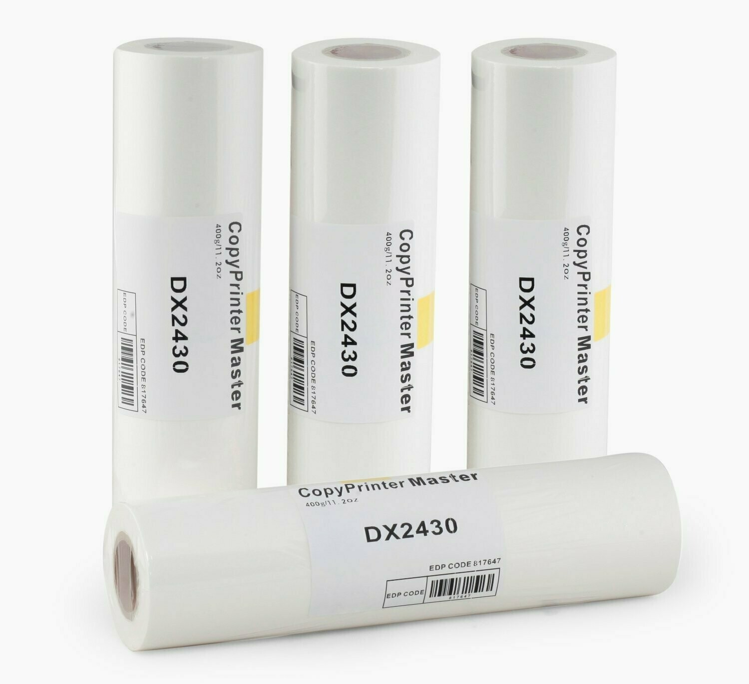 Copy Printer DX 2430 Master Roll, Pack of 4