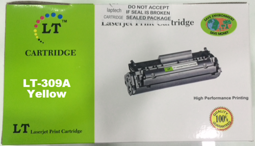 LT 309A Yellow Toner Cartridge, Q2672A