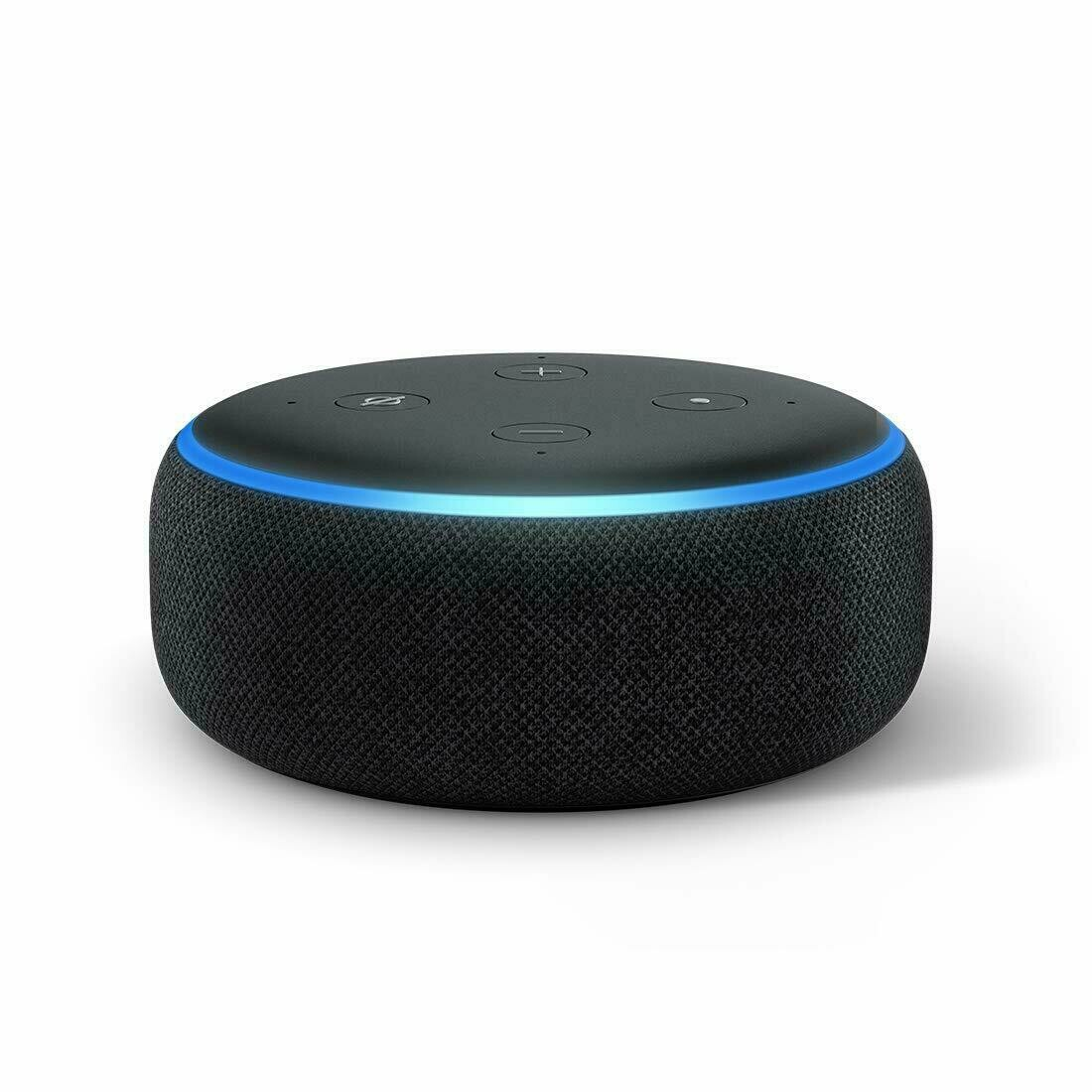 Amazon Echo Dot 3rd Gen Smart speaker with Alexa, Black