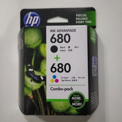 HP 680 Combo Pack, Ink Cartridge