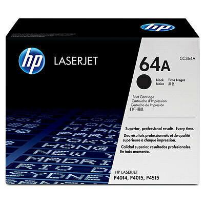 HP 64A Toner Cartridge, Black