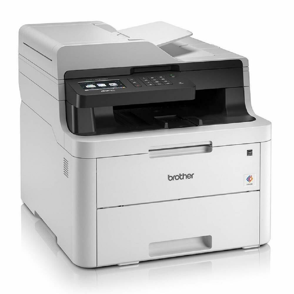 Brother MFC-L3735CDN Network Colour LED All-in-One, Duplex Mobile Print ADF