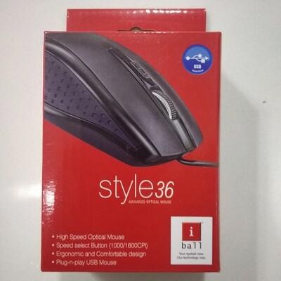 iBall Style 36 Advanced Optical USB Mouse