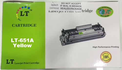 LT CE342A 651A Yellow Toner Cartridge