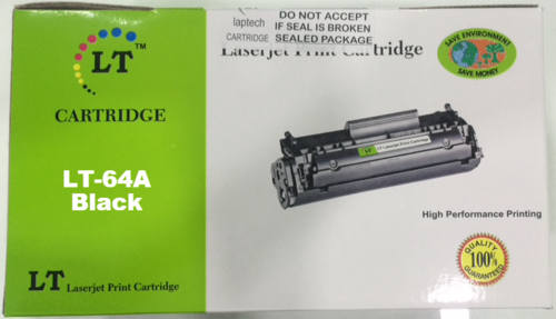 LT CC364A 64A Toner Cartridge, Black