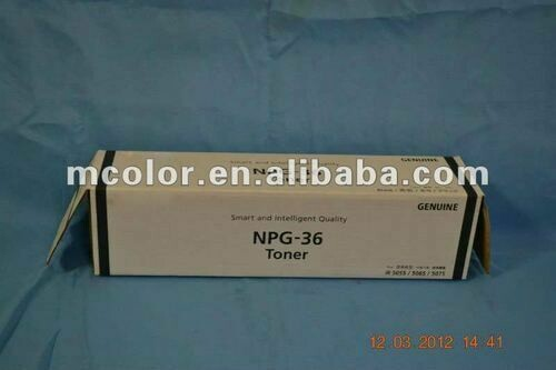 Canon NPG 36 Toner Cartridge, Black