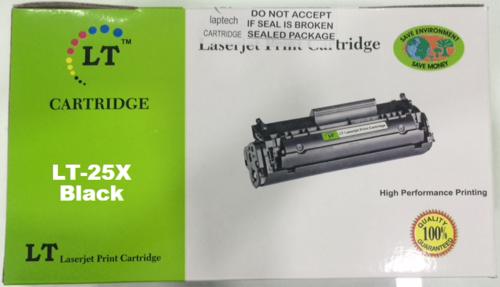 LT CF325X 25X Toner Cartridge, Black