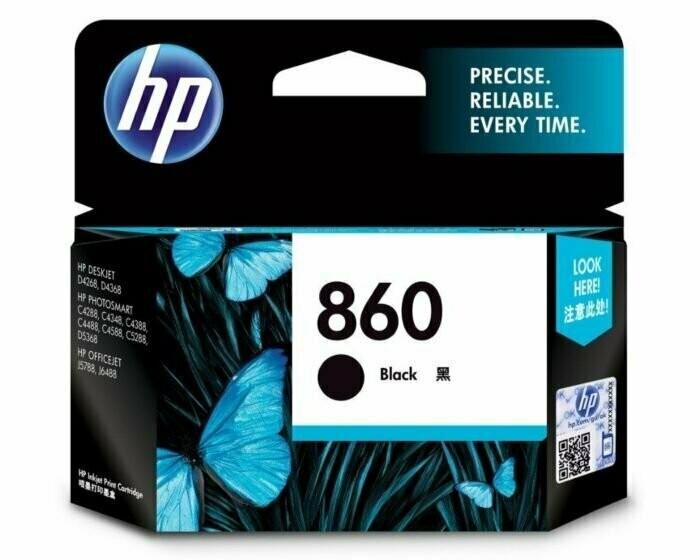 HP 860 Ink Cartridge, Black
