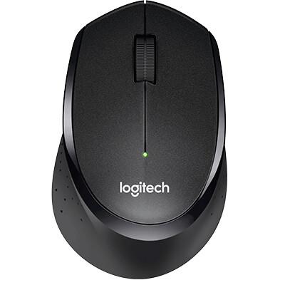 Logitech M331 Silent Plus Wireless Mouse, Black