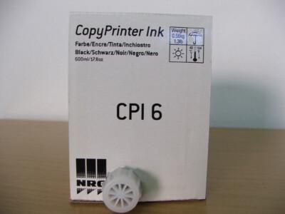 for Gestetner CPI-6 Black Copy Printer ink