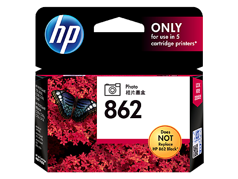 HP 862 Ink Cartridge, Photo Black