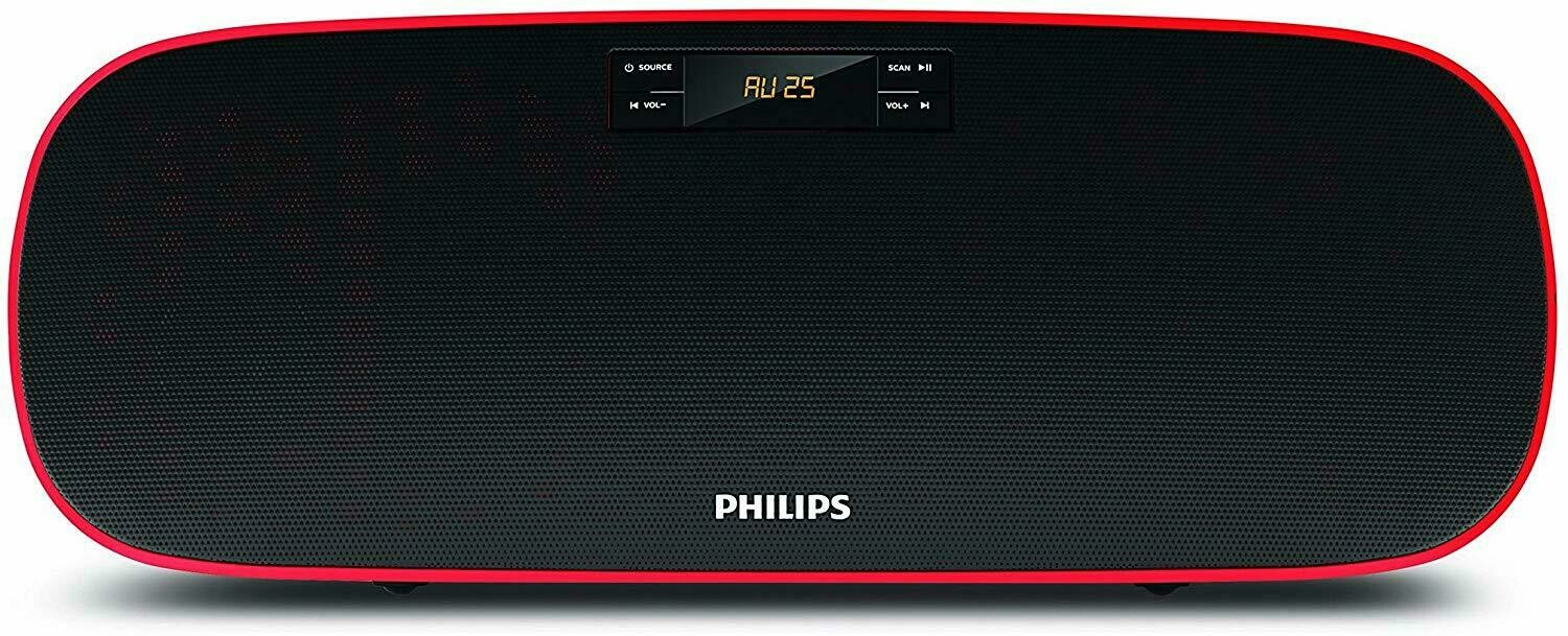 Philips MMS2140B Compact Home Audio Speakers
