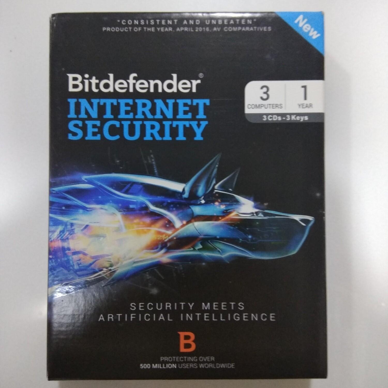 3 User, 1 Year, Bitdefender Internet Security