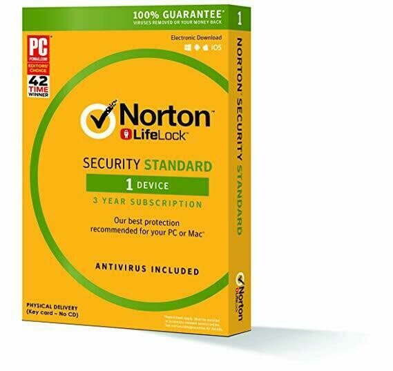 Norton Security Standard, 1 Device, 36 months