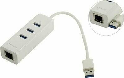 TP-Link UE330 USB 3-Port Hub & Gigabit Ethernet Adapter