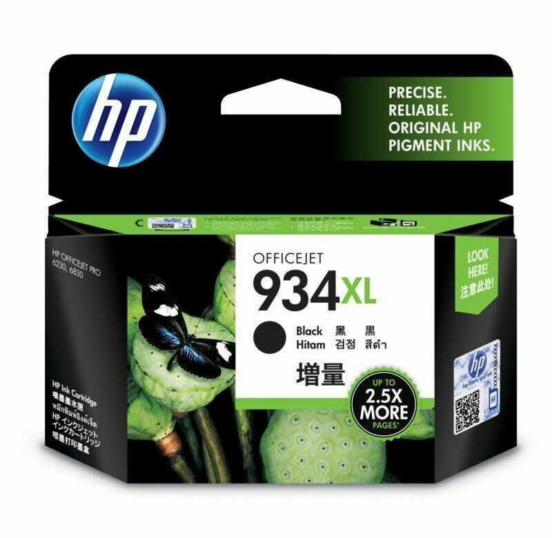 HP 934XL Ink Cartridge, Black