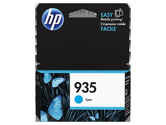 HP 935 Ink Cartridge, Cyan