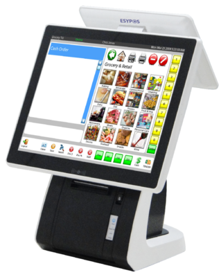 ESYAclas PO5X All-In-One, AIO, Touch POS