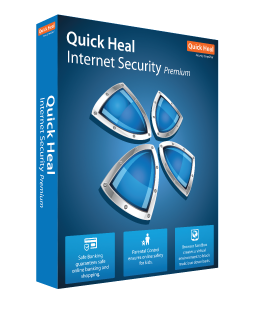 2 User, 1 Year, Quick Heal Internet Security