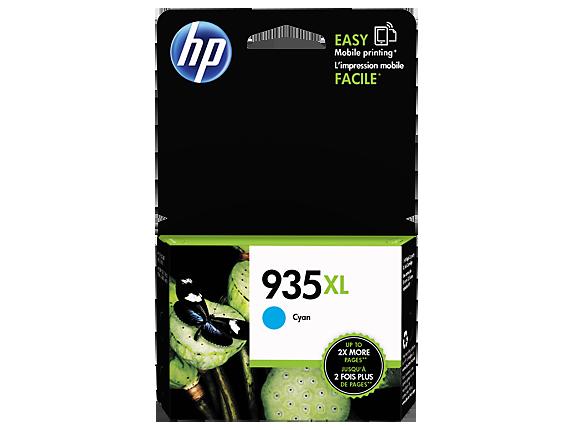 HP 935XL Ink Cartridge, Cyan