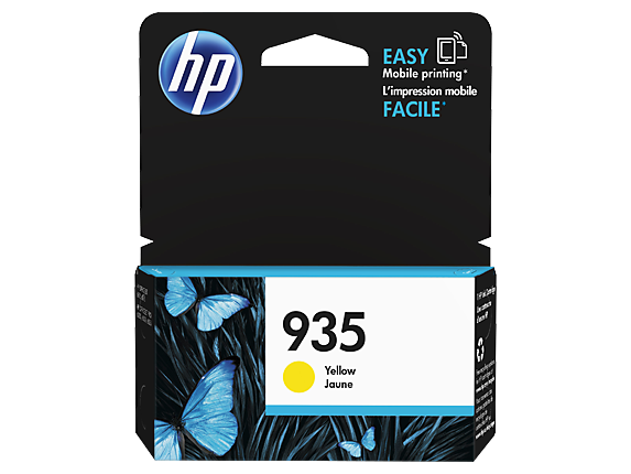 HP 935 Ink Cartridge, Yellow
