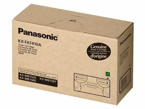 Panasonic KX FAT-410 SX Toner Cartridge, Black