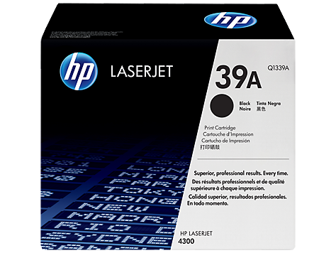 HP Q1339A 39A Toner Cartridge, Black