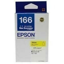 Epson 166 Ink Cartridge, Yellow