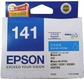 Epson 141 Ink Cartridge, Cyan
