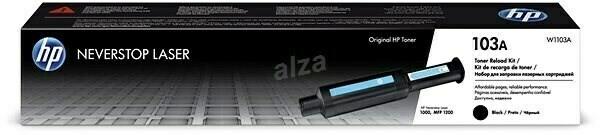 HP 103A Neverstop Laser Toner Reload Kit, Black