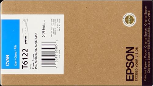 Epson T6122 Ink Cartridge, Cyan