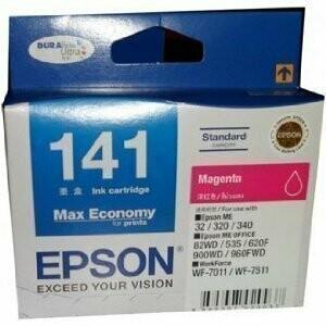 Epson 141 Ink Cartridge, Magenta