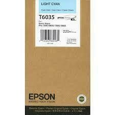 Epson T6035 Ink Cartridge, Light Cyan