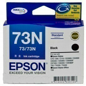 Epson 73N Ink Cartridge, Black