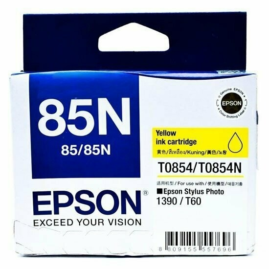 Epson 85N Ink Cartridge, Yellow