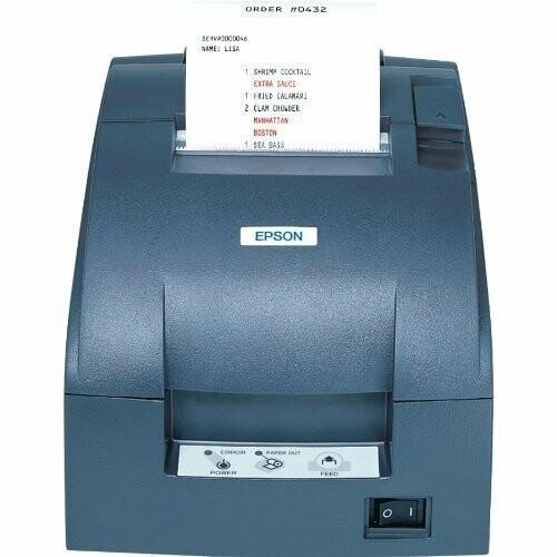 Epson TM-U220 Dot Matrix POS Receipt Printer, Serial