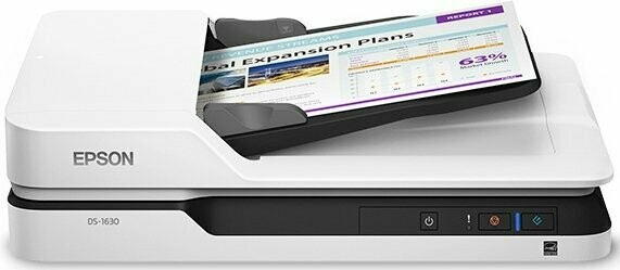 Epson DS-1630 Color Flatbed Scanner With ADF