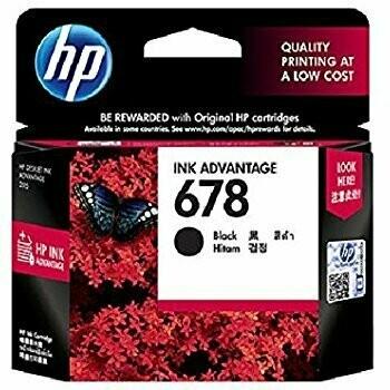HP 678 Ink Cartridge, Black