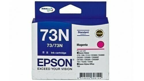 Epson 73N Ink Cartridge, Magenta