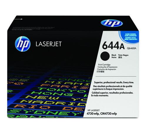 HP Q6460A 644A Toner Cartridge, Black