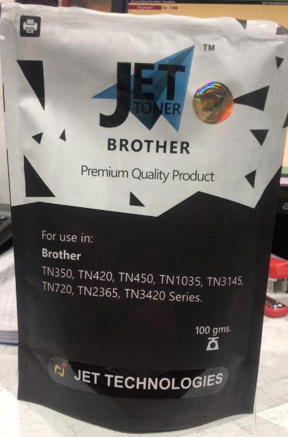 Jet 100gms Toner Powder for Brother