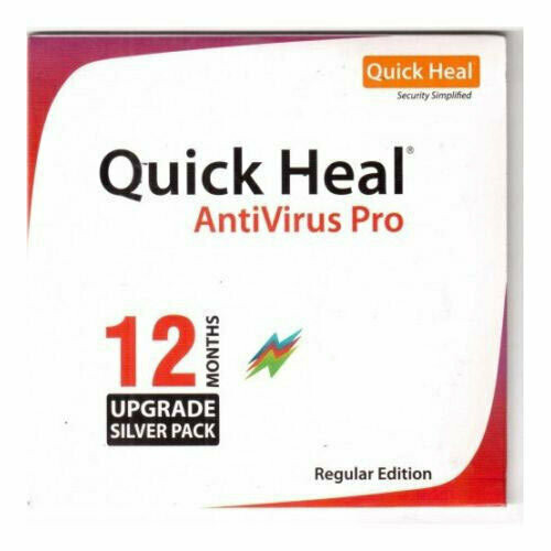 Renewal, 10 User, 1 Year, Quick Heal Antivirus Pro