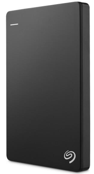 Seagate 2TB Backup Plus Slim External Hard Drive, Black, STDR2000300
