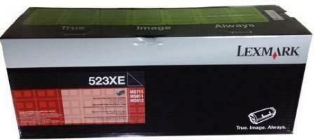 Lexmark 52D3X0E Black Extra High Yield Toner Cartridge