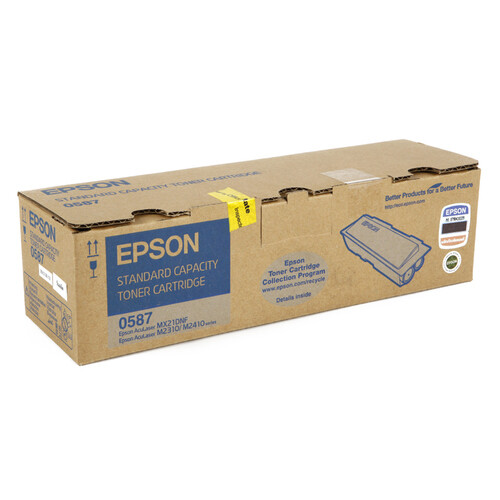 Epson S050587 Toner Cartridge, Black, mx21/mx2310/m2410