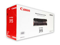 Canon 315 Toner Cartridge, Black