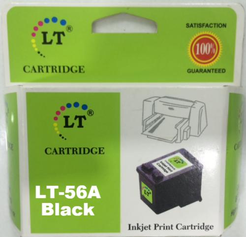 LT 56A Ink Cartridge, Black C6656AA
