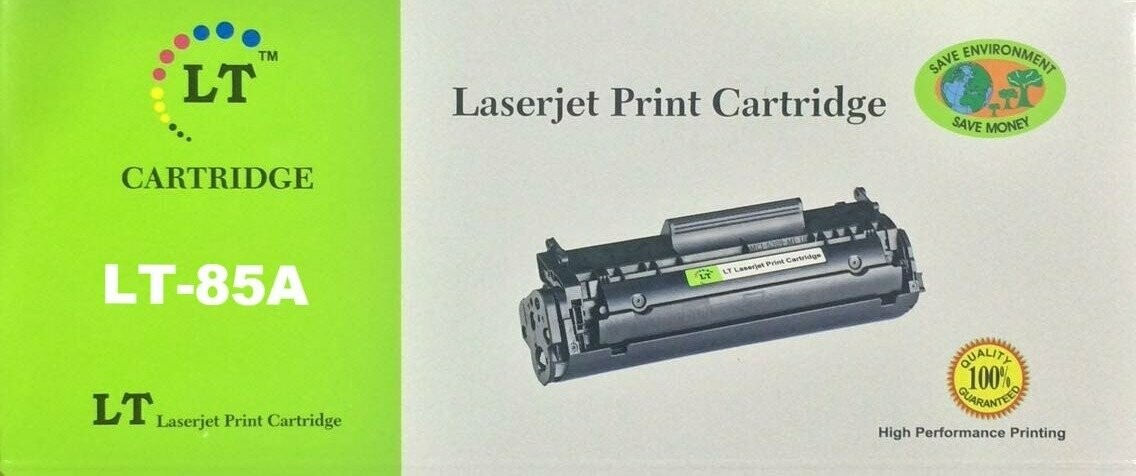 LT 85A Toner Cartridge, Black CE285A